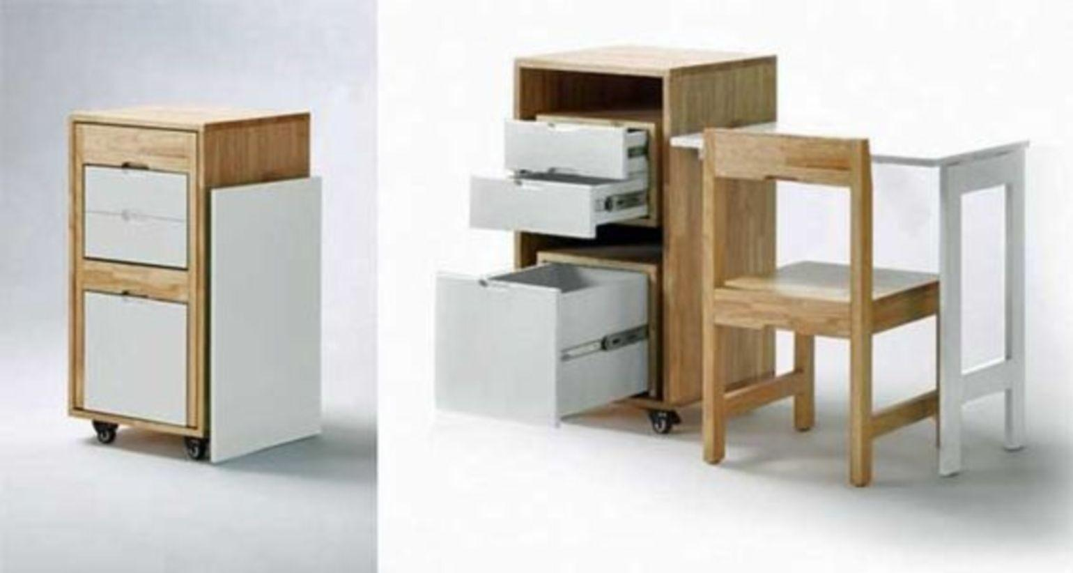 Smart Furniture Ideas Small Space Wartaku