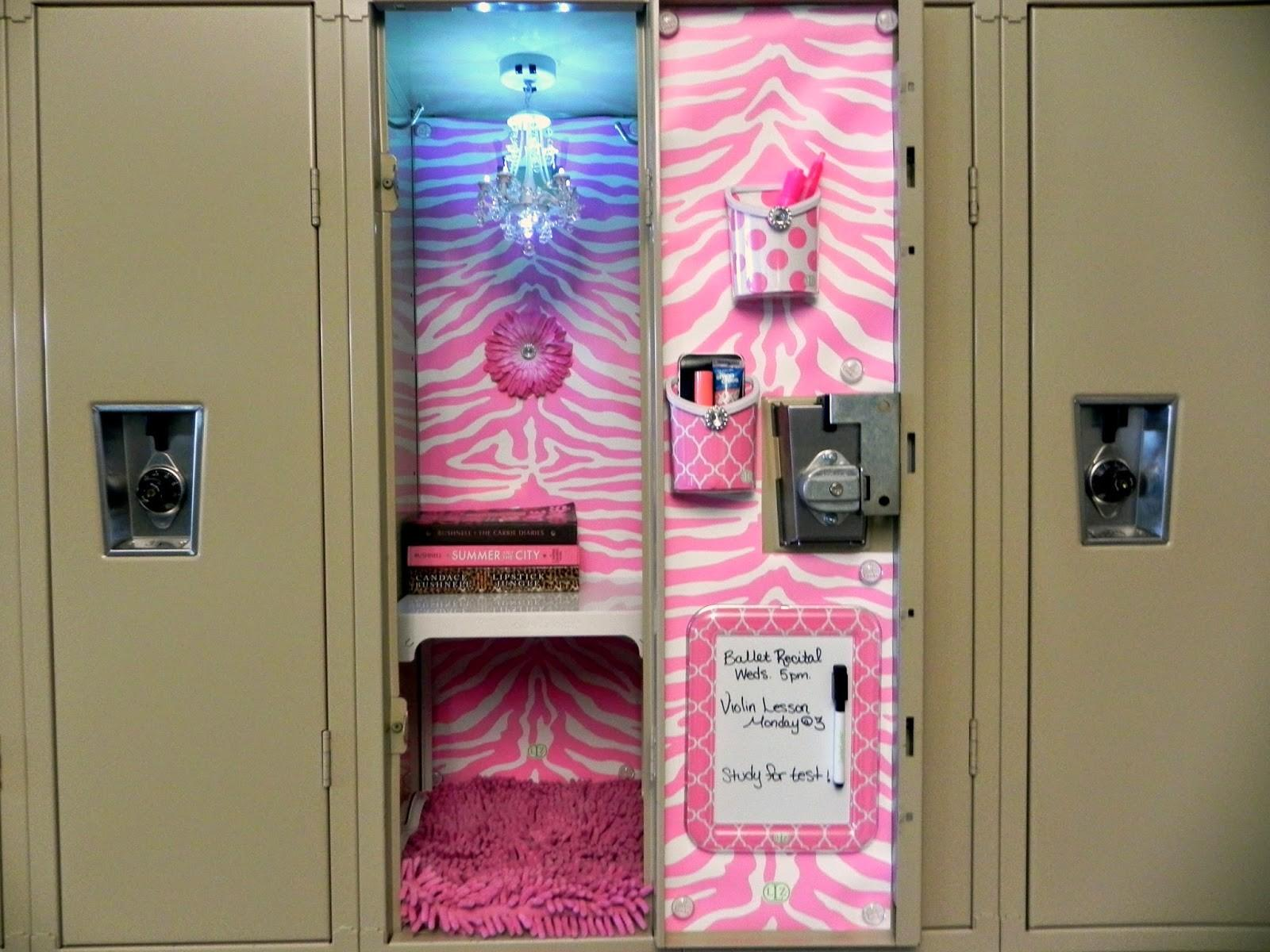Smart Snazzy Decorate Your Locker Llz