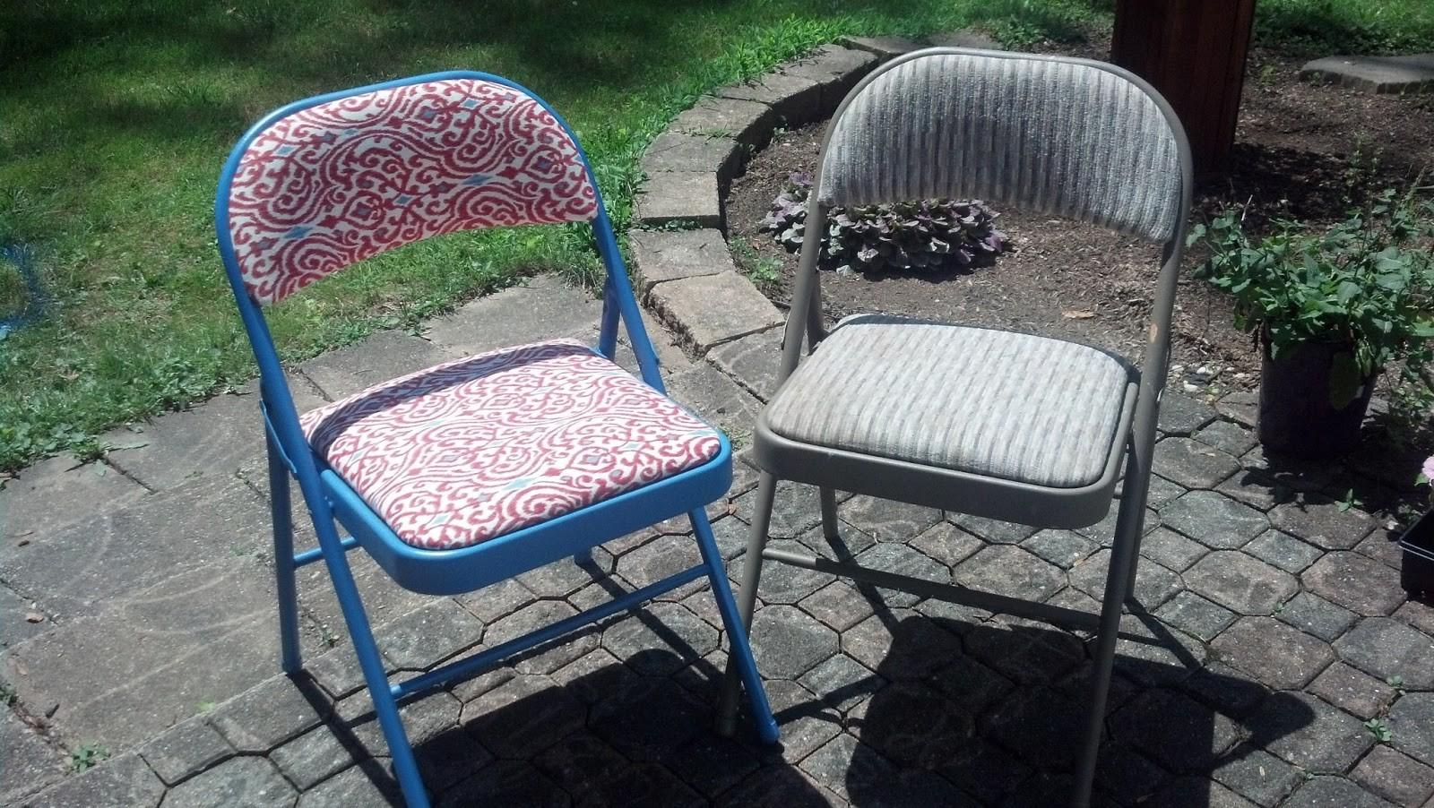 Smartgirlstyle Folding Chair Makeover Reader Success