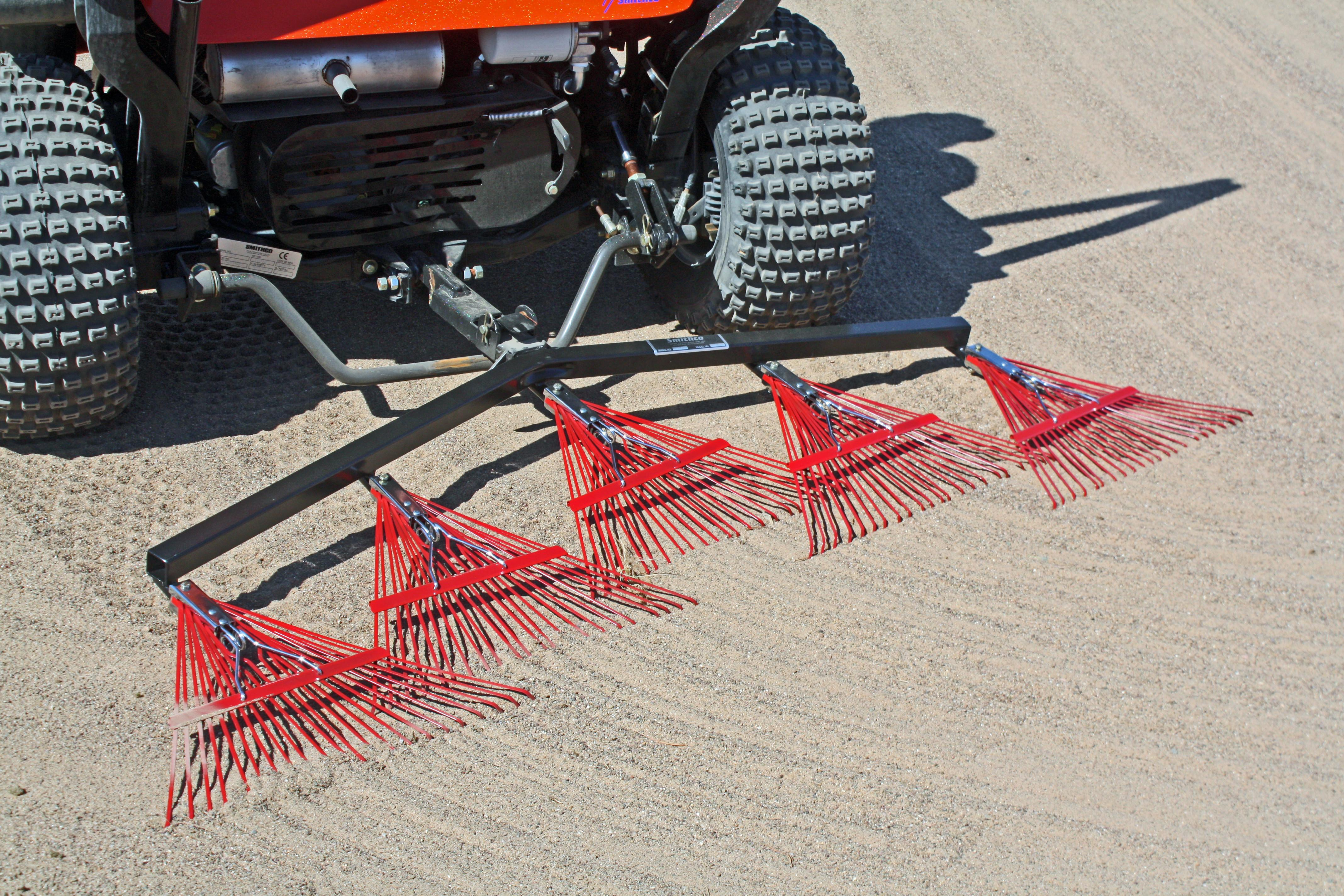 Smithco Bunker Rake Implements Quick Hitch Golf