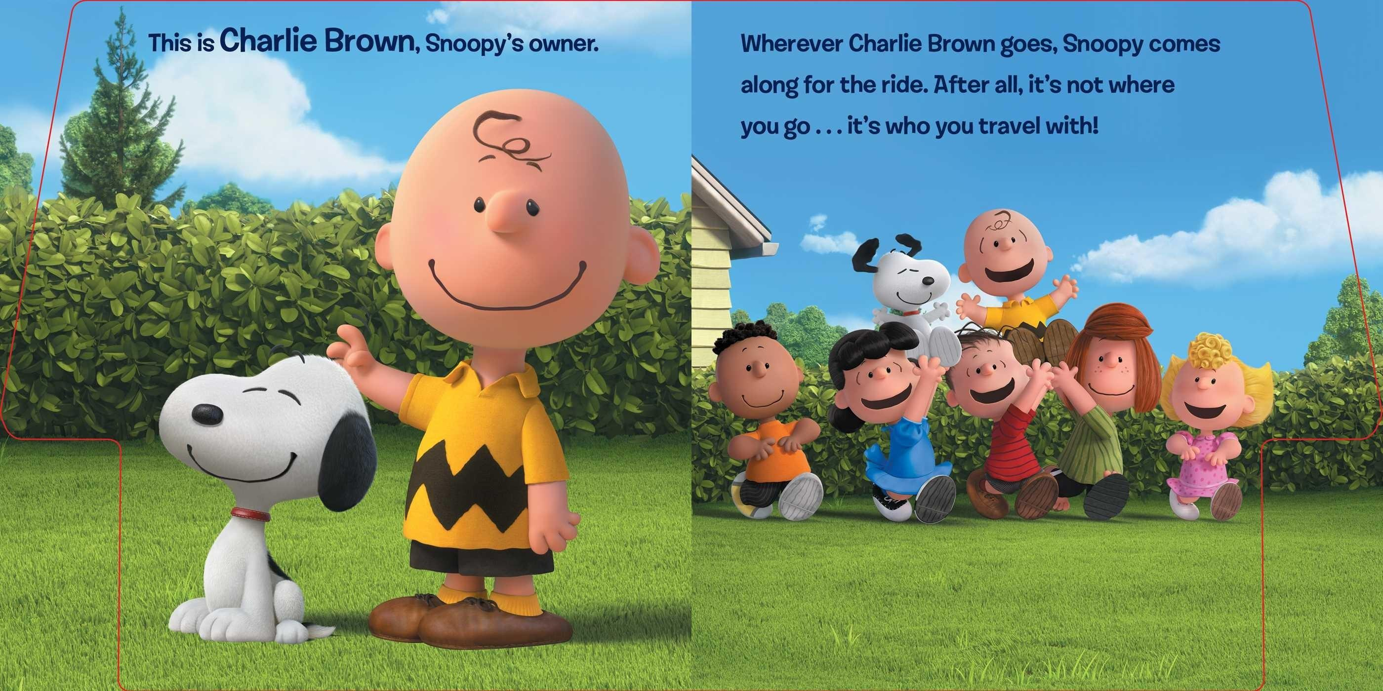 Snoopy Friends Book Charles Schulz Style