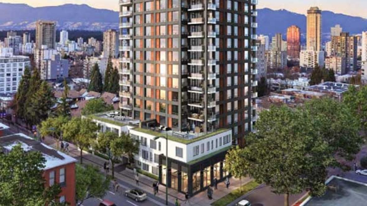 Social Housing Have Separate Entrance Vancouver High