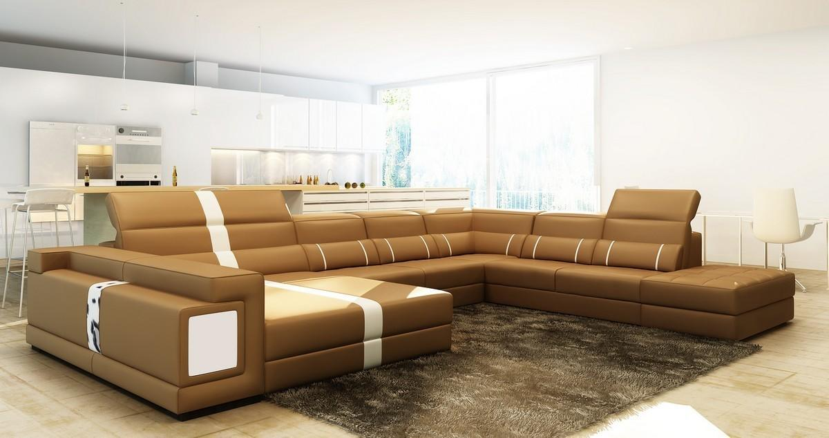 Sofa Beds Design Popular Modern Camel Colored Sectional
