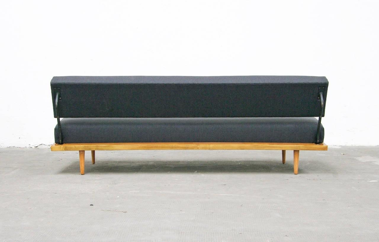 Sofa Florence Knoll International Daybed Beech Mid