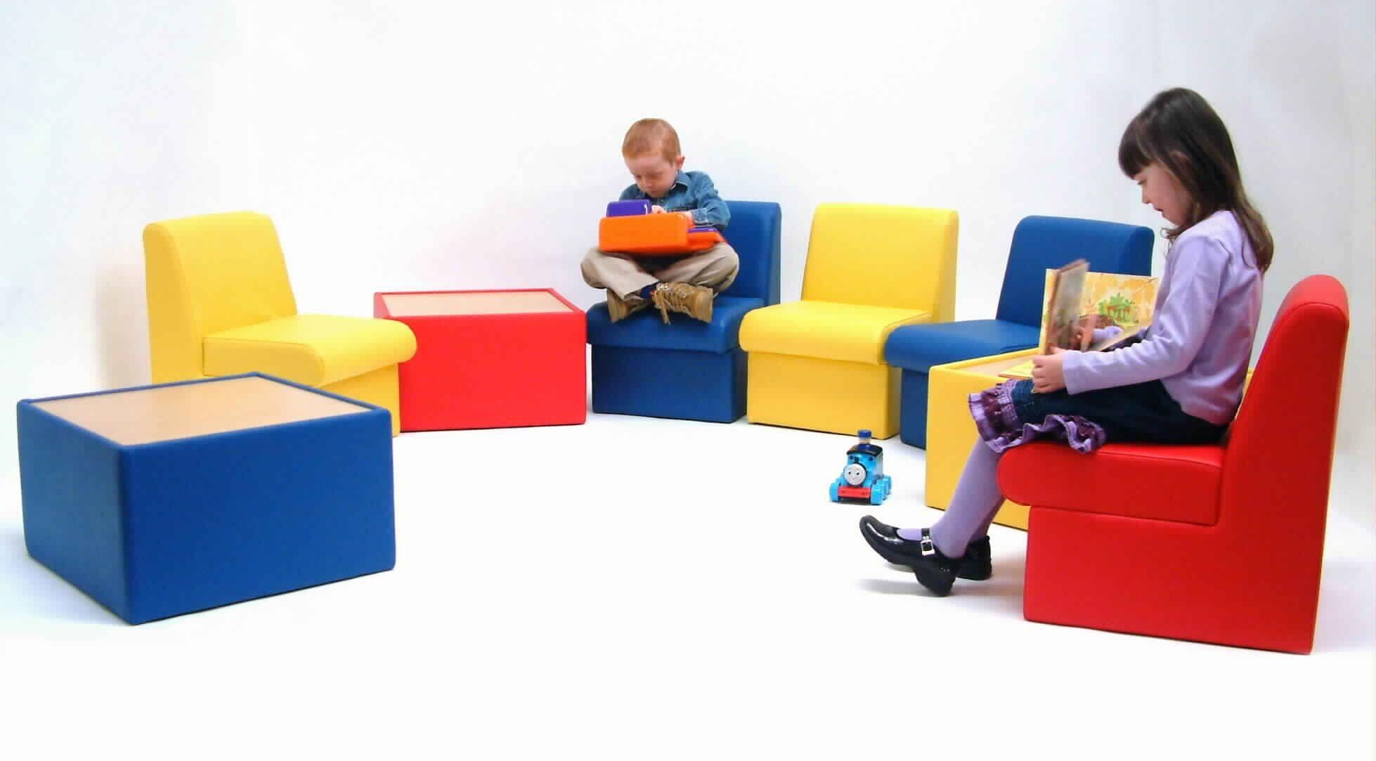 Soft Seating Vinyl Upholstery Kiddy Cabby Band