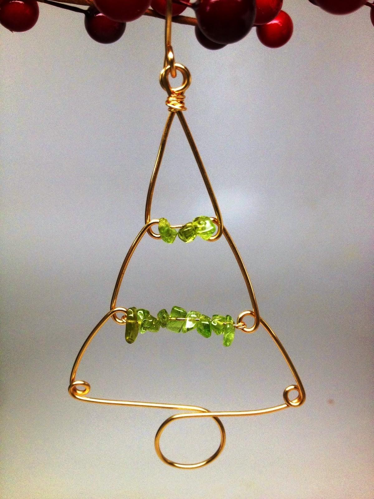 Softflexgirl Four Diy Christmas Tree Wire Ornaments Made