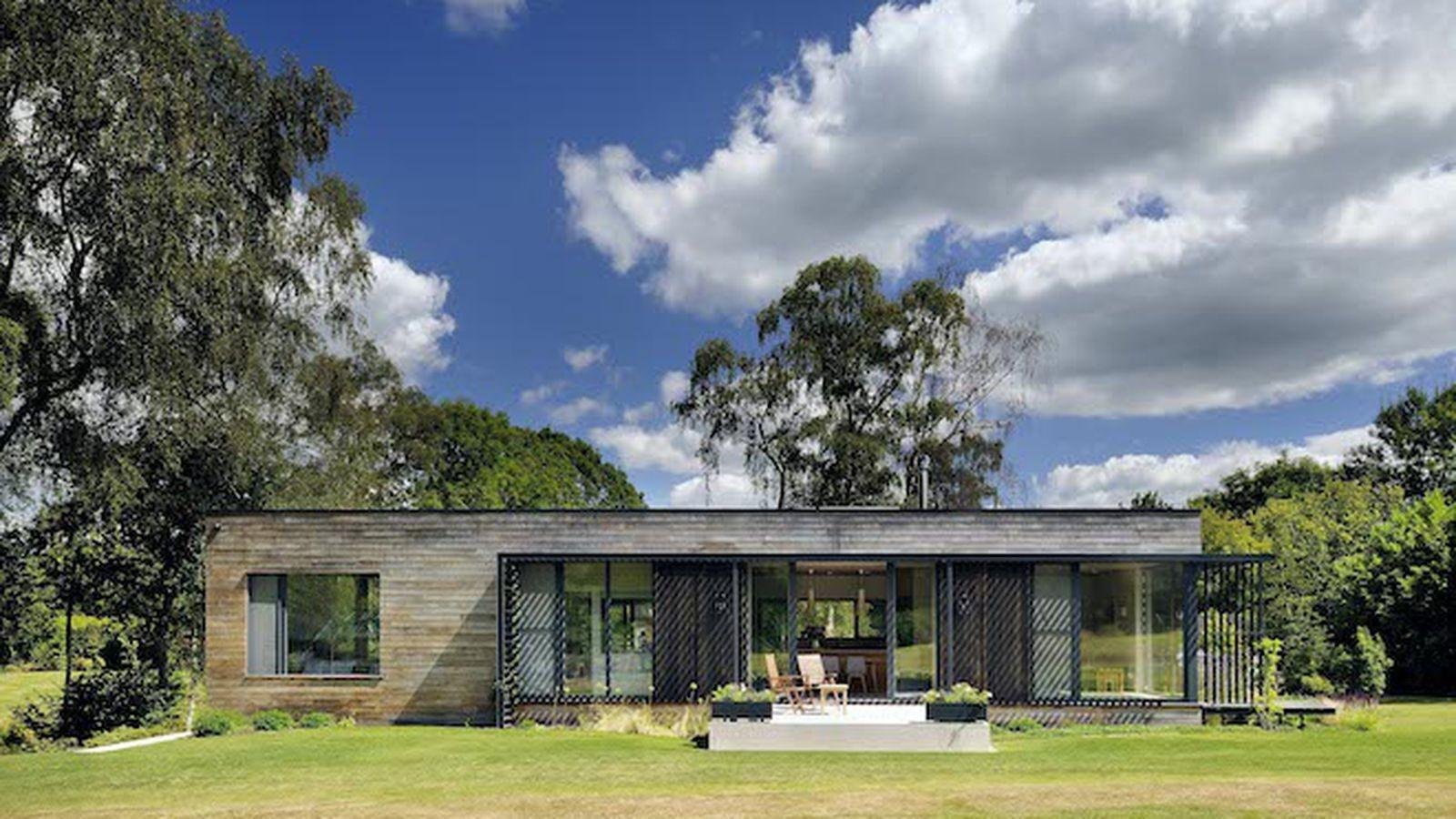 Solar Powered Prefab Home Offers Airy Eco Friendly
