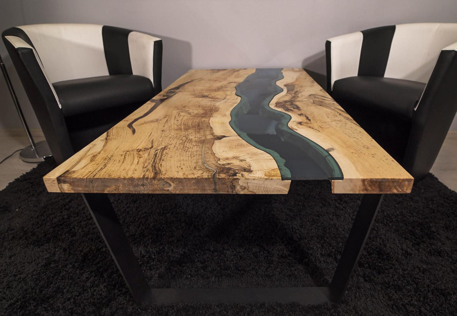 Sold Live Edge River Coffee Table