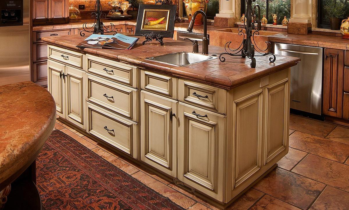 Solid Light Oak Wood Counter Tops Surface