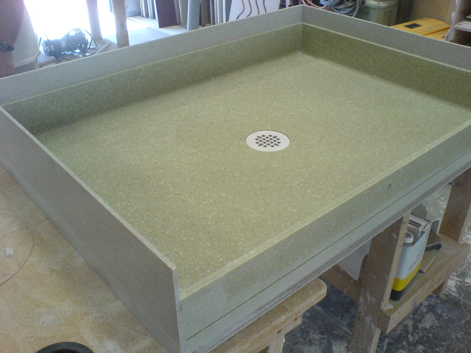 Solid Surface Shower Pan