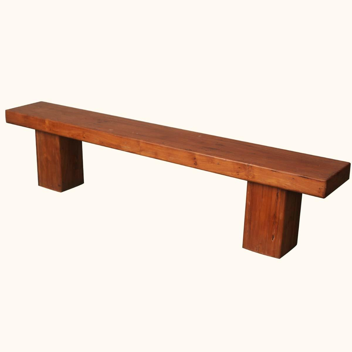 Solid Wood Dining Bench Indoor Furniture