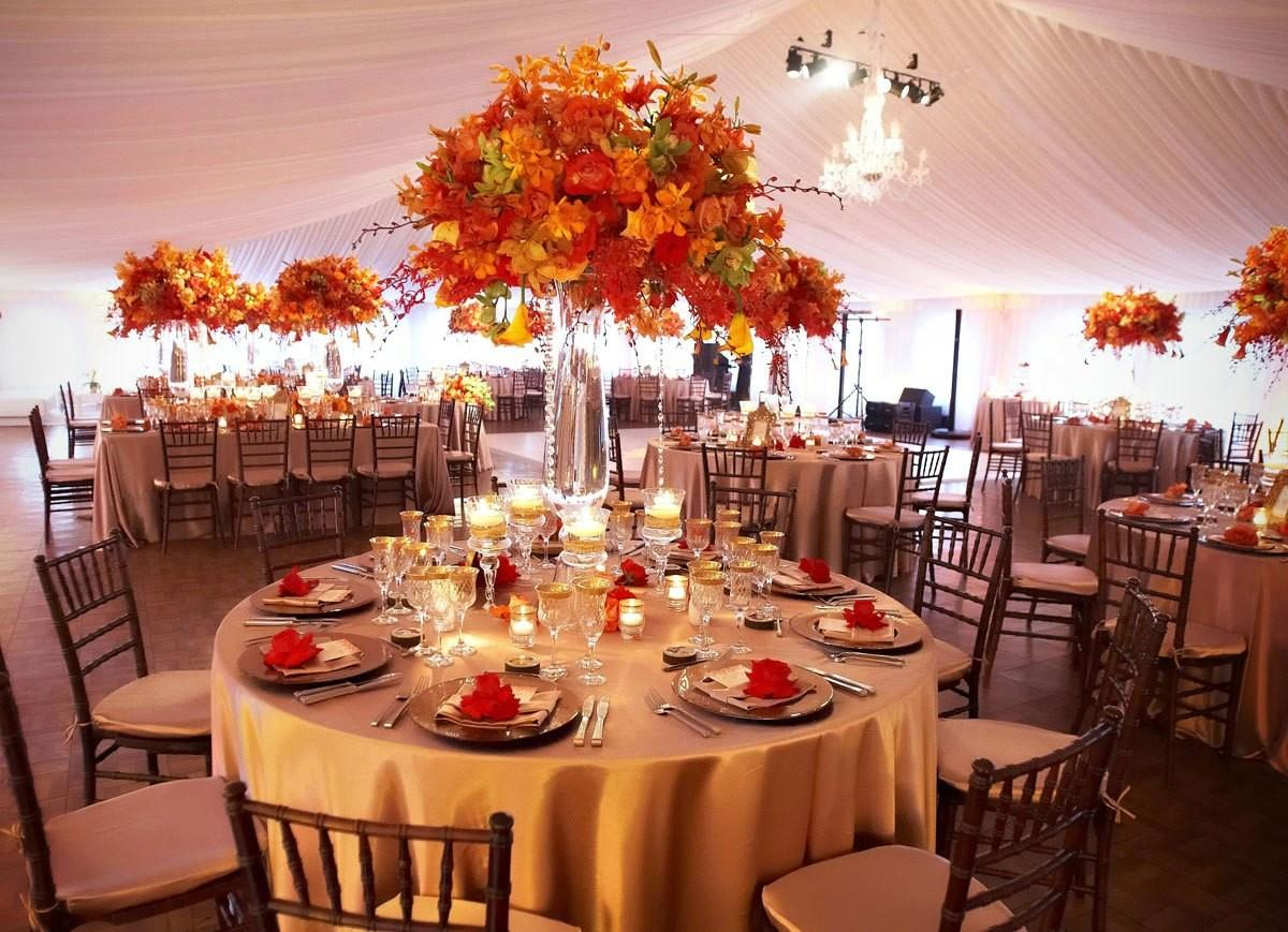 Some Themes Wedding Reception Example