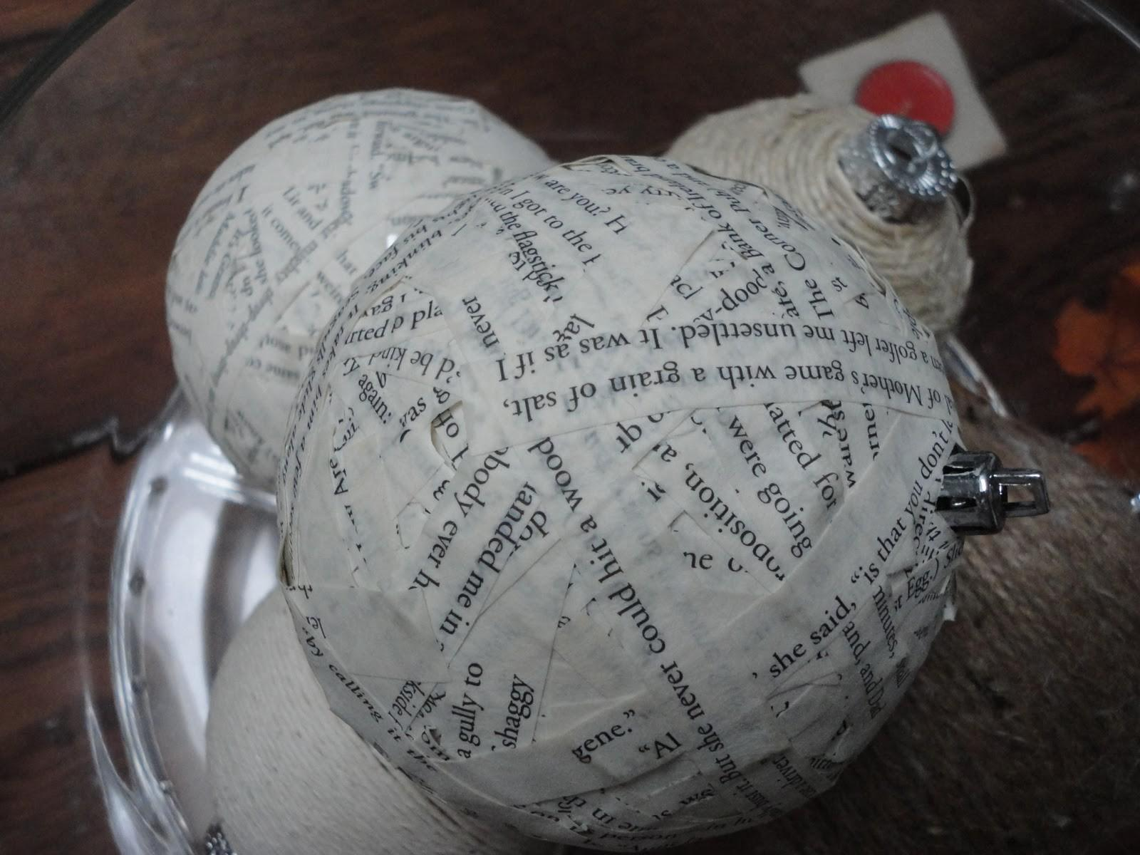 Something Nothing Paper Mache Christmas Ornament