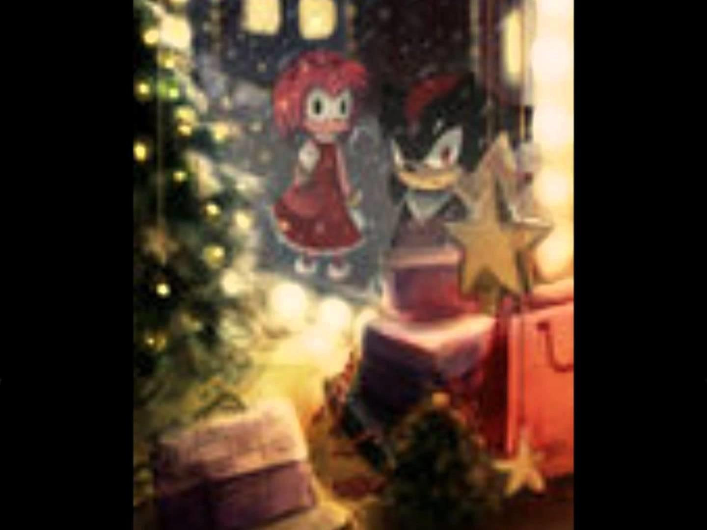 Sonic Friends All Want Christmas Merry