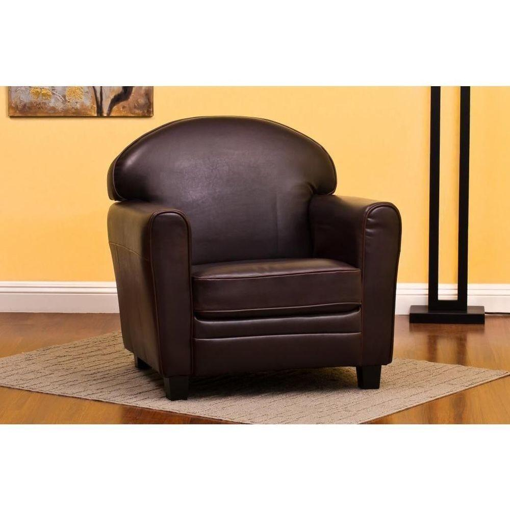 Sonny Leather Office Chair Accent Decor Home Furniture
