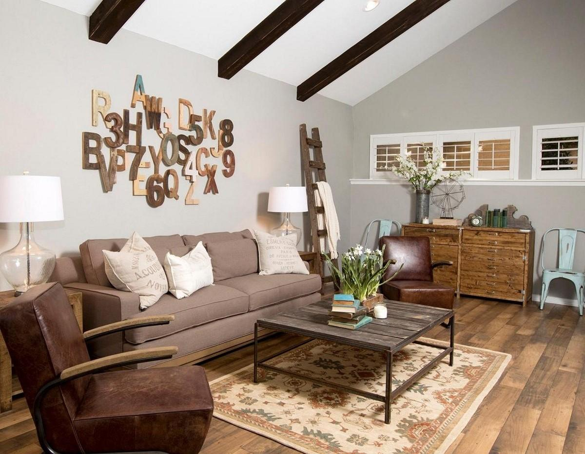Soothing Rustic Living Room Ideas Fireplace Decorating