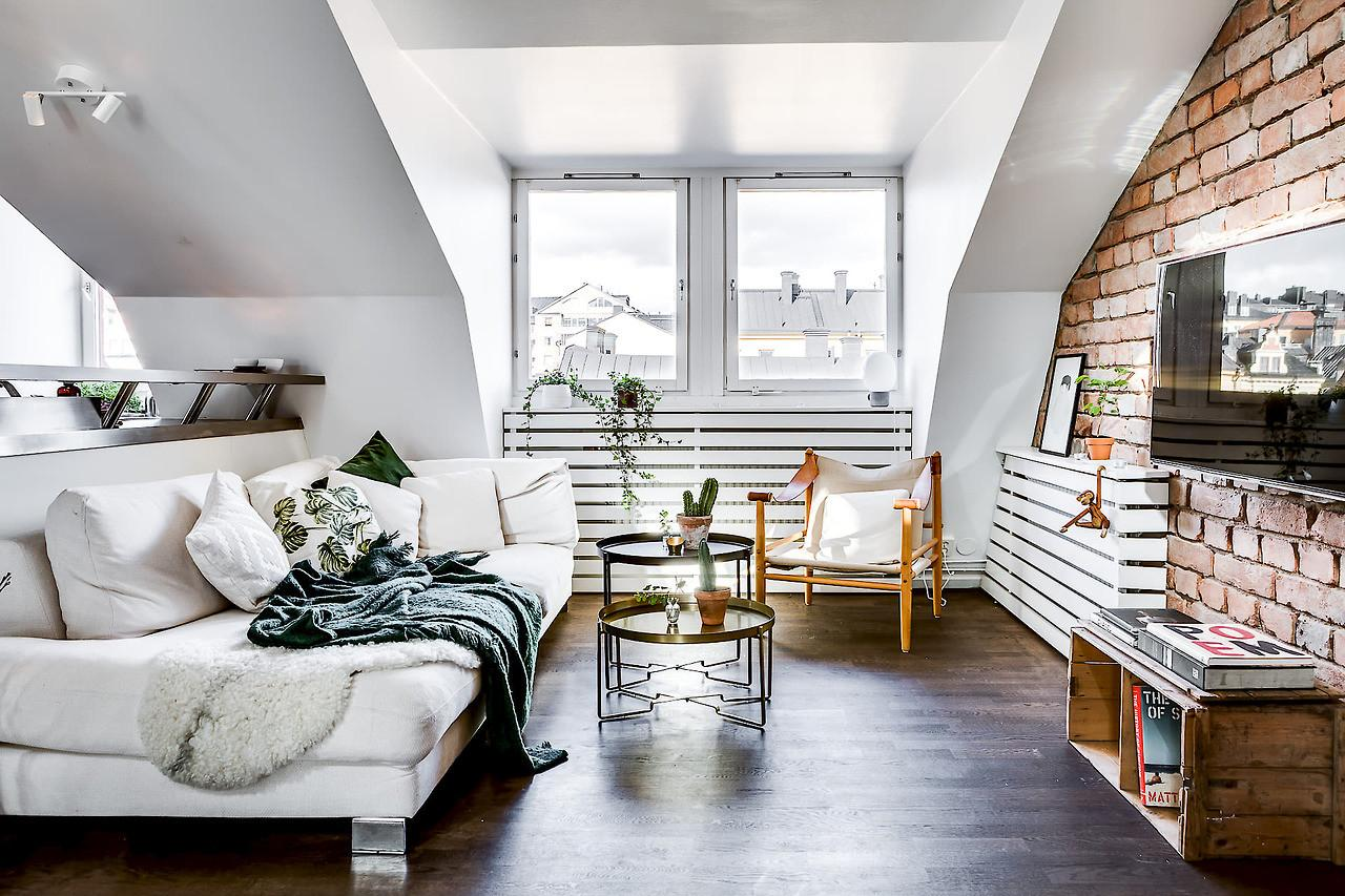 Sophisticated Attic Apartments Best Inspiration