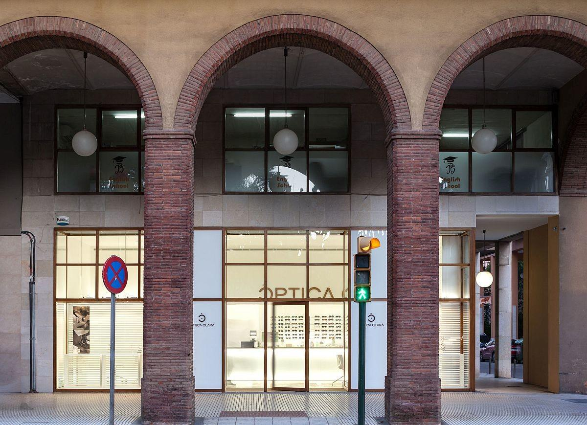 Sophistication Meets Sweeping Old Arches Optic Shop