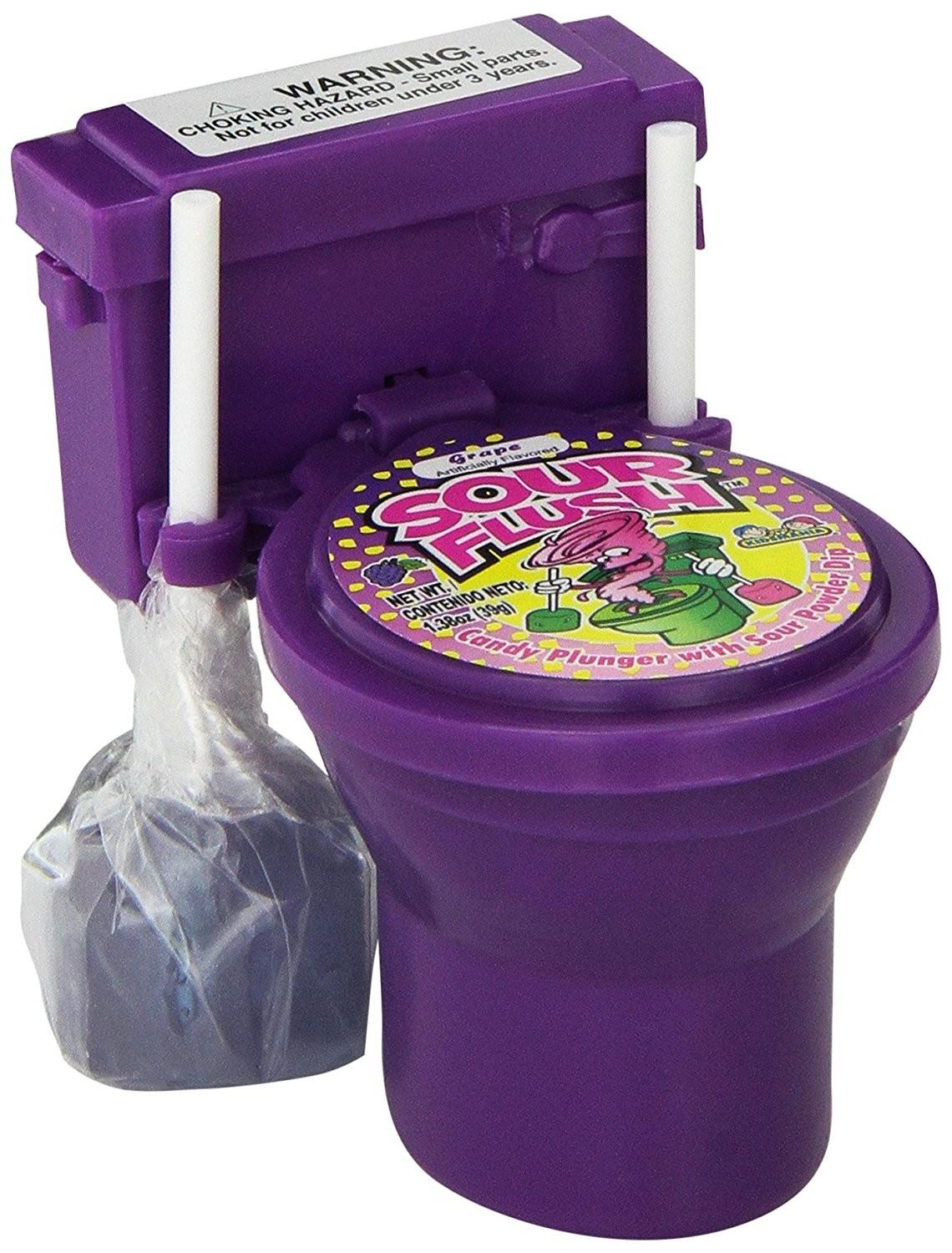 Sour Flush Candy Plugers Powder Dip Toilet Shipping