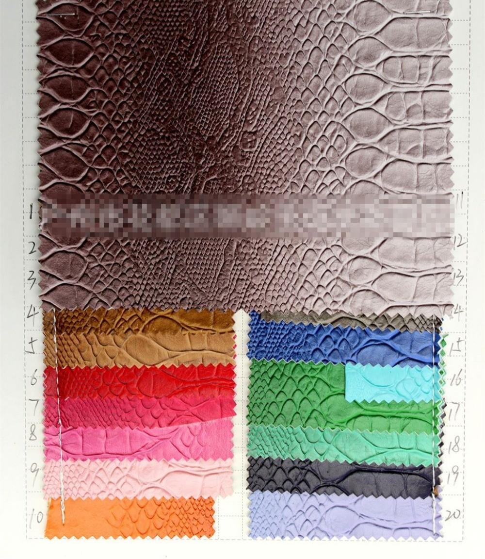 South American Skid Resistance Snake Print Leather Home
