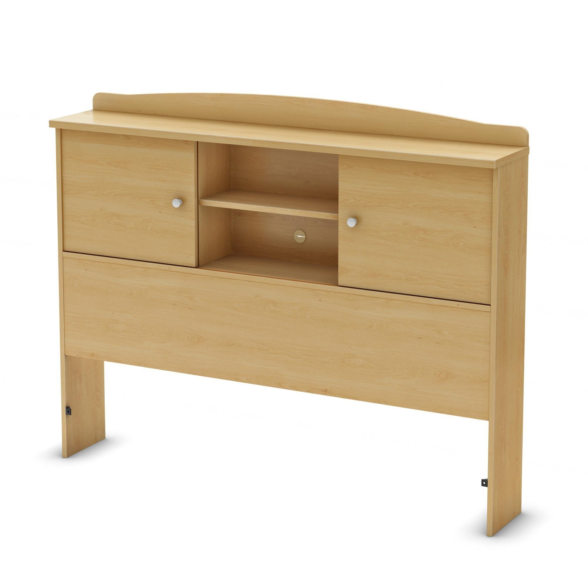 South Shore Clever Bookcase Headboard