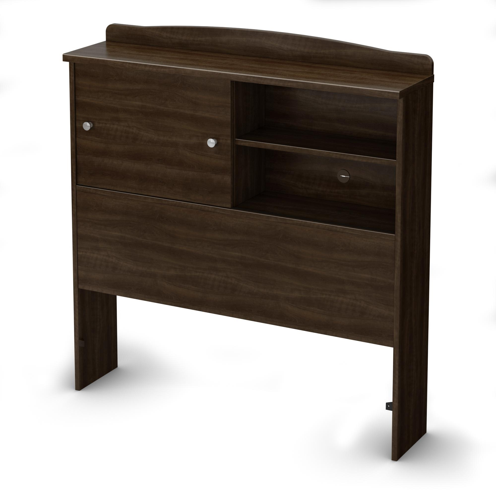 South Shore Clever Twin Bookcase Headboard