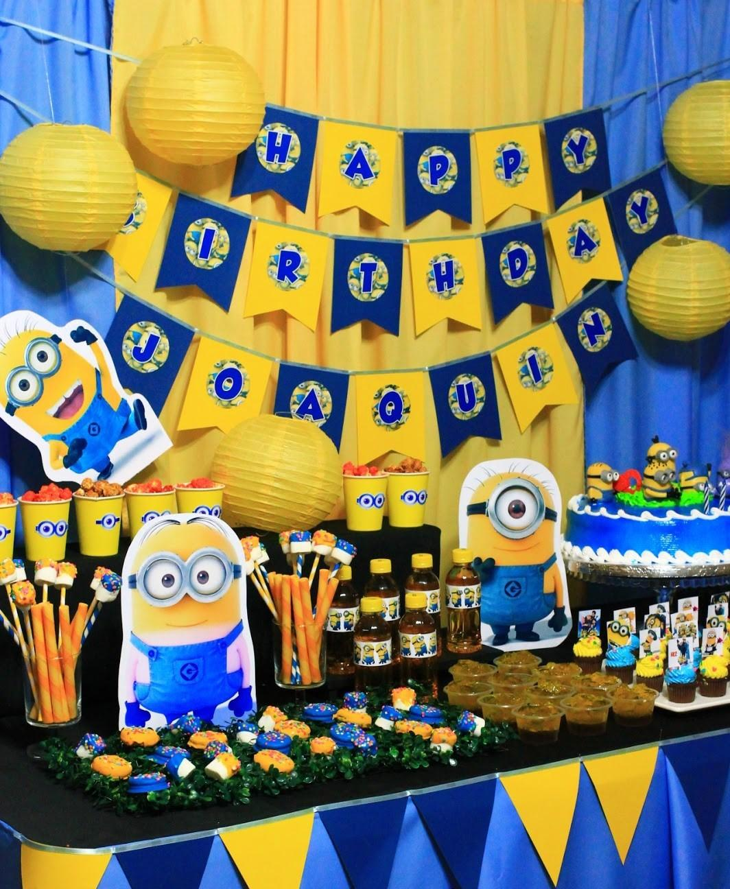 Southern Blue Celebrations Despicable Minions Party