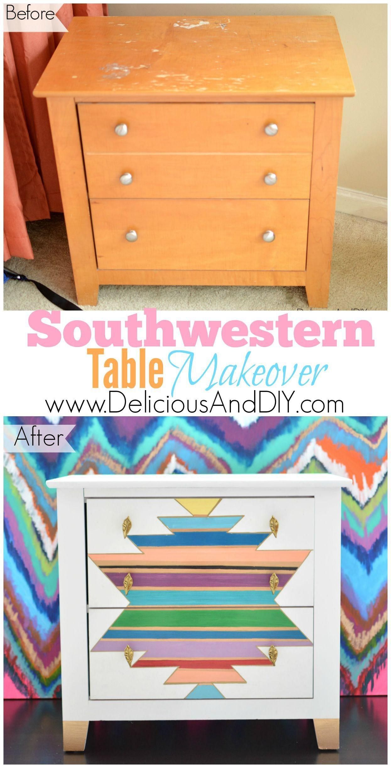Southwestern Table Makeover Delicious