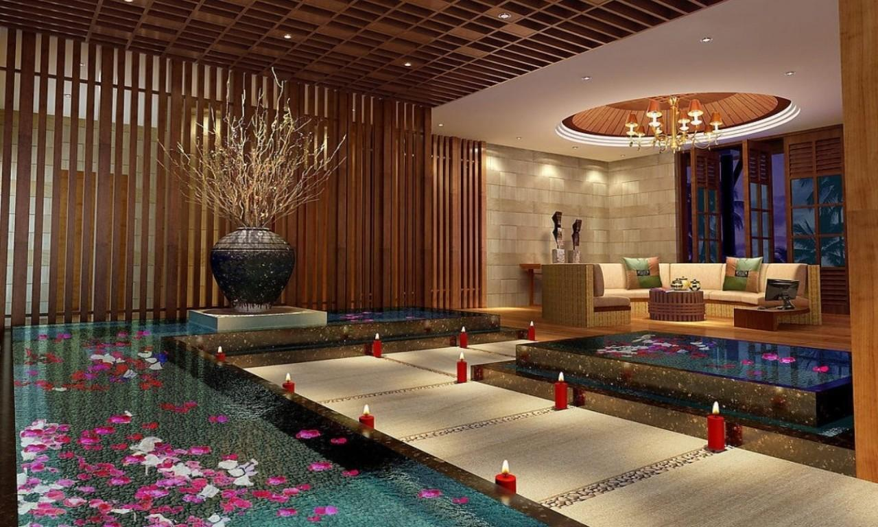 Spa Interior Design Asian