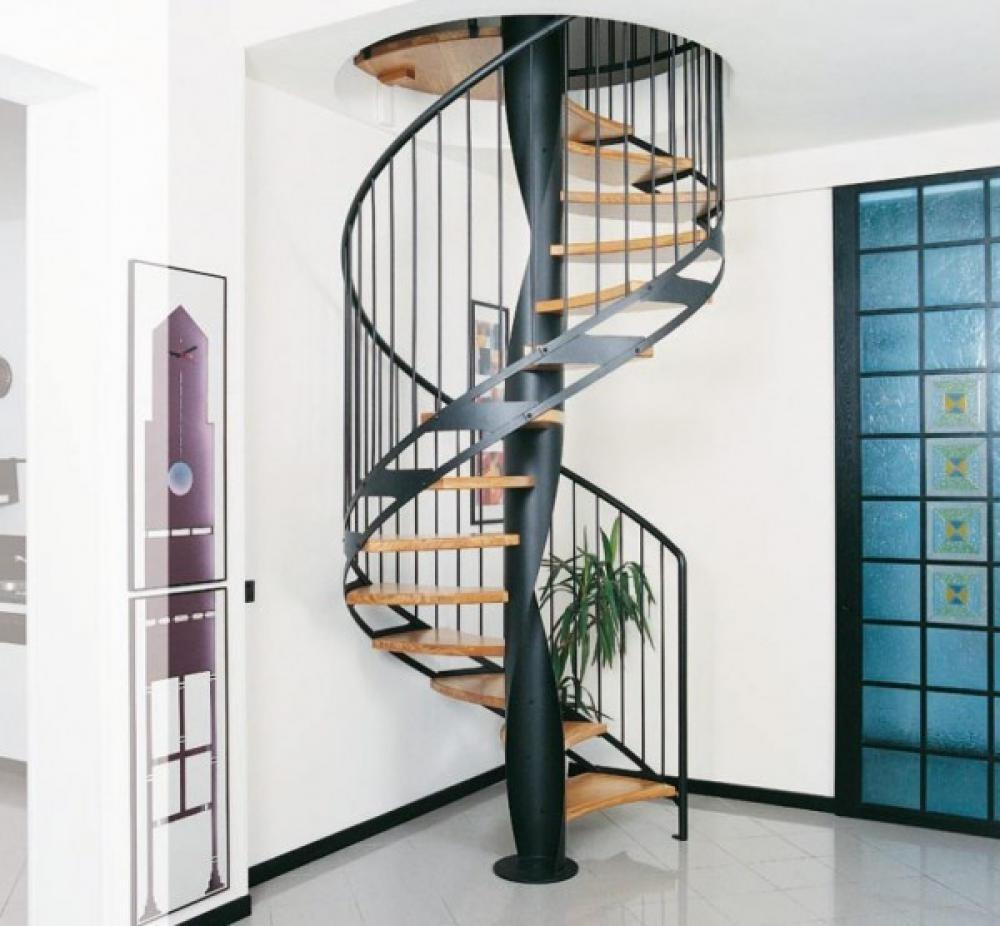 Space Saver Spiral Staircase