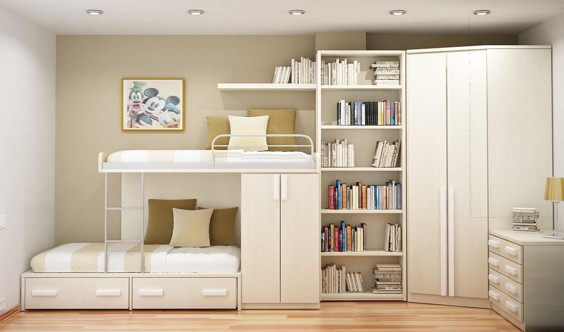 Space Saving Ideas Small Bedrooms Room