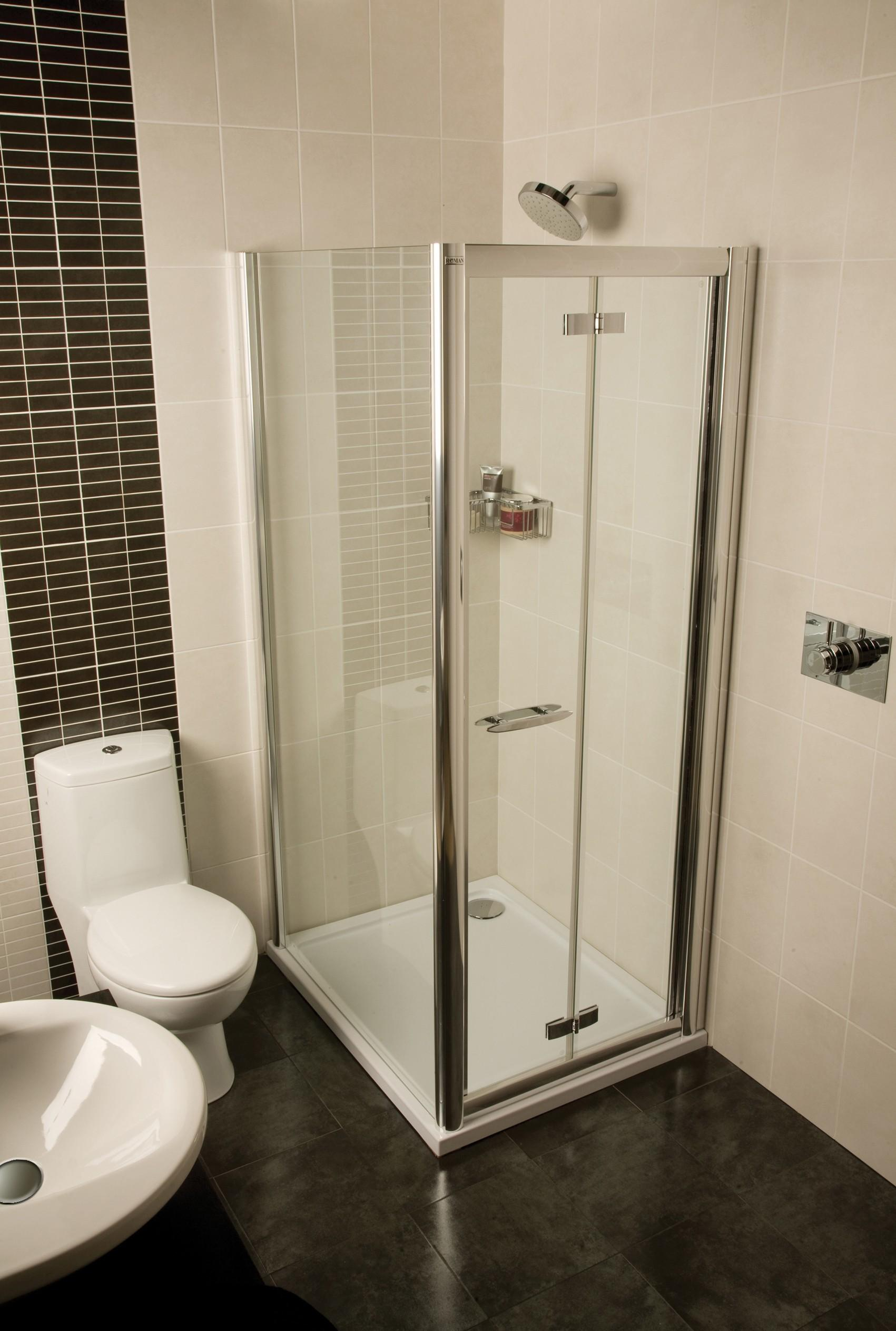 Space Saving Shower Solution Small Bathroom Roman Showers