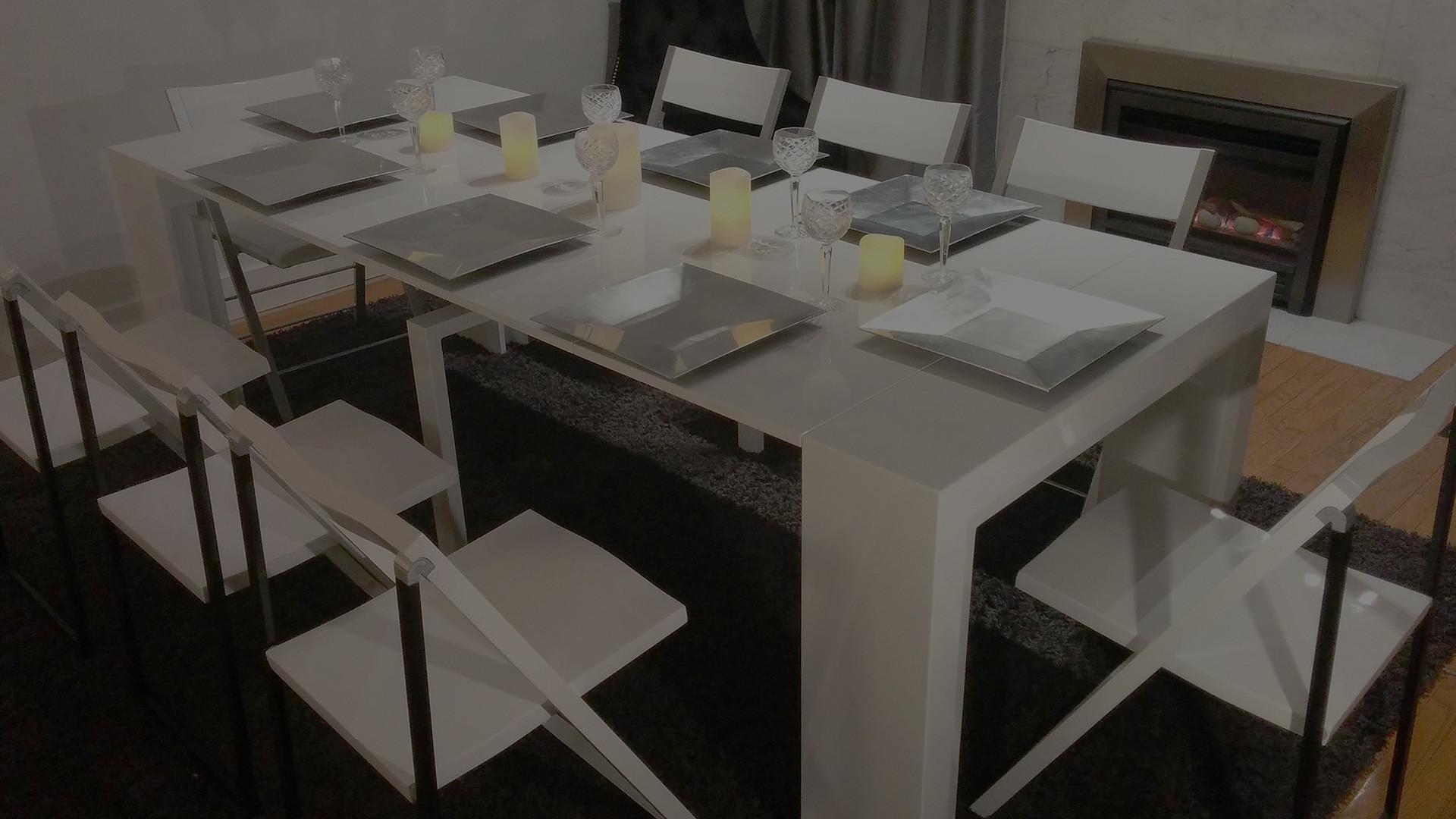 Space Saving Tables Extending Dining Occasional