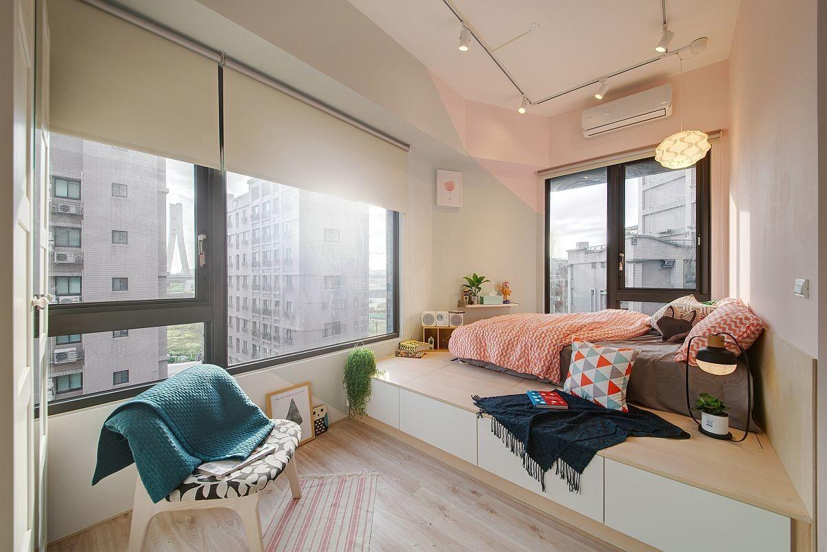 Space Savvy Urban Apartment Designed Couple