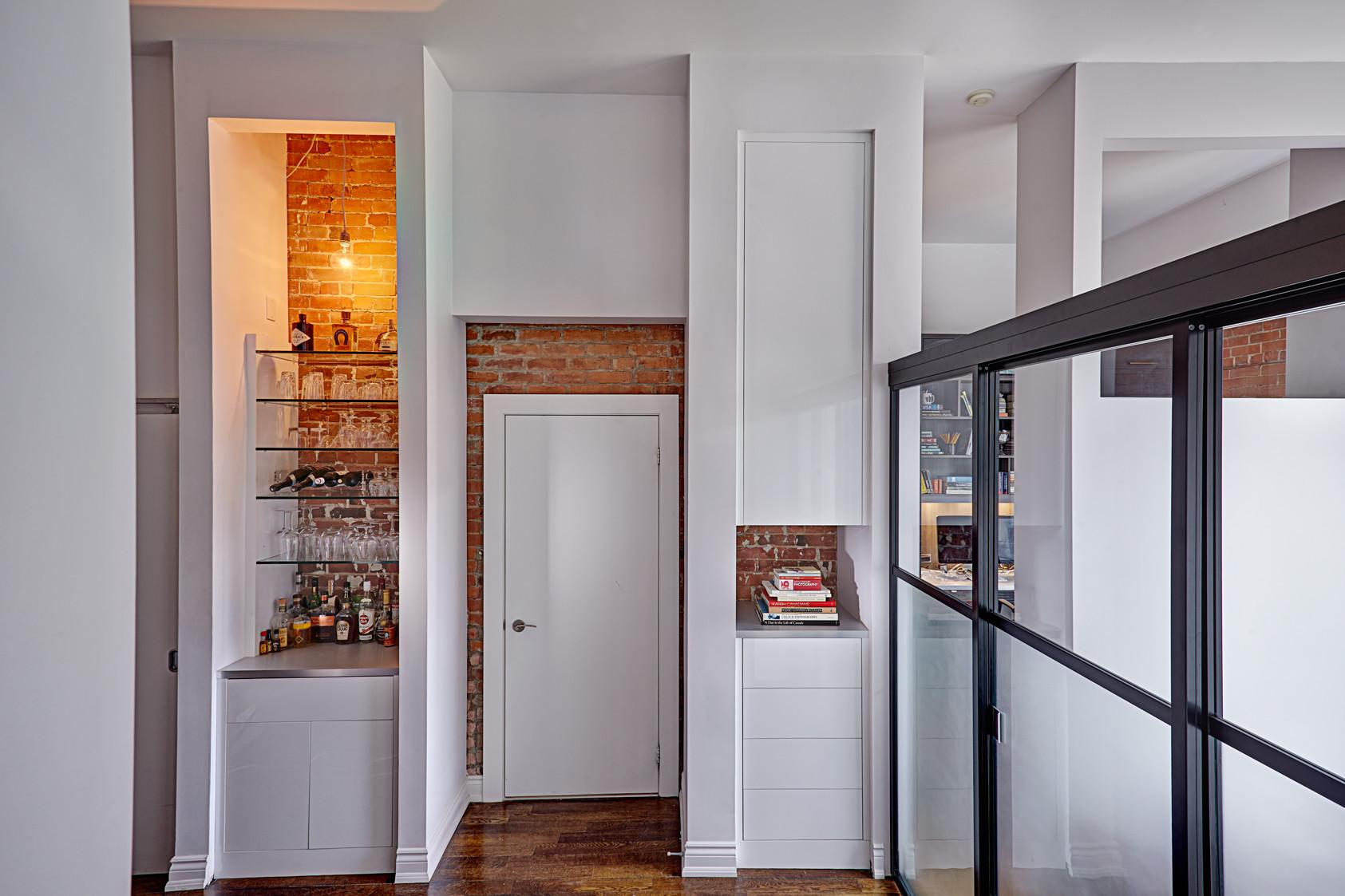 Space Solutions Liberty Village Loft Home Office Bar