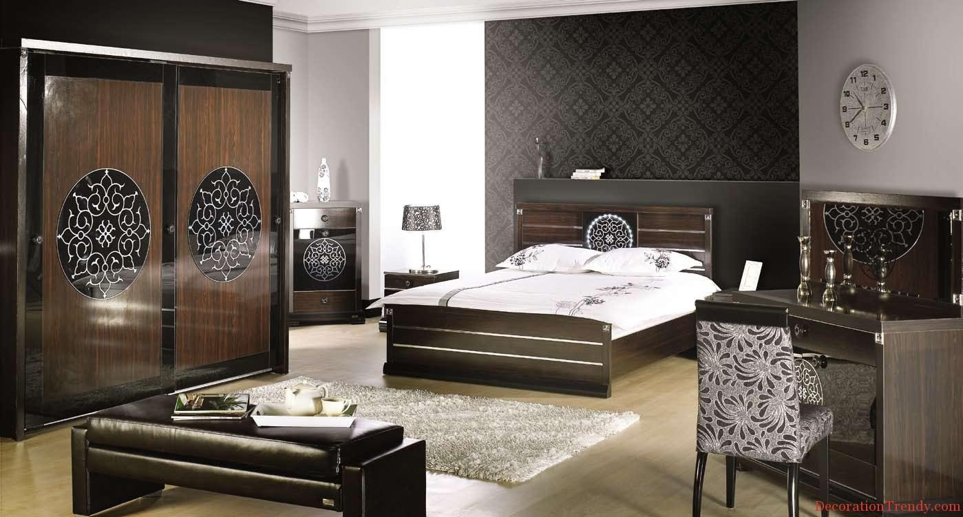 Spacious Modern Bedroom Designs Decoration Trendy