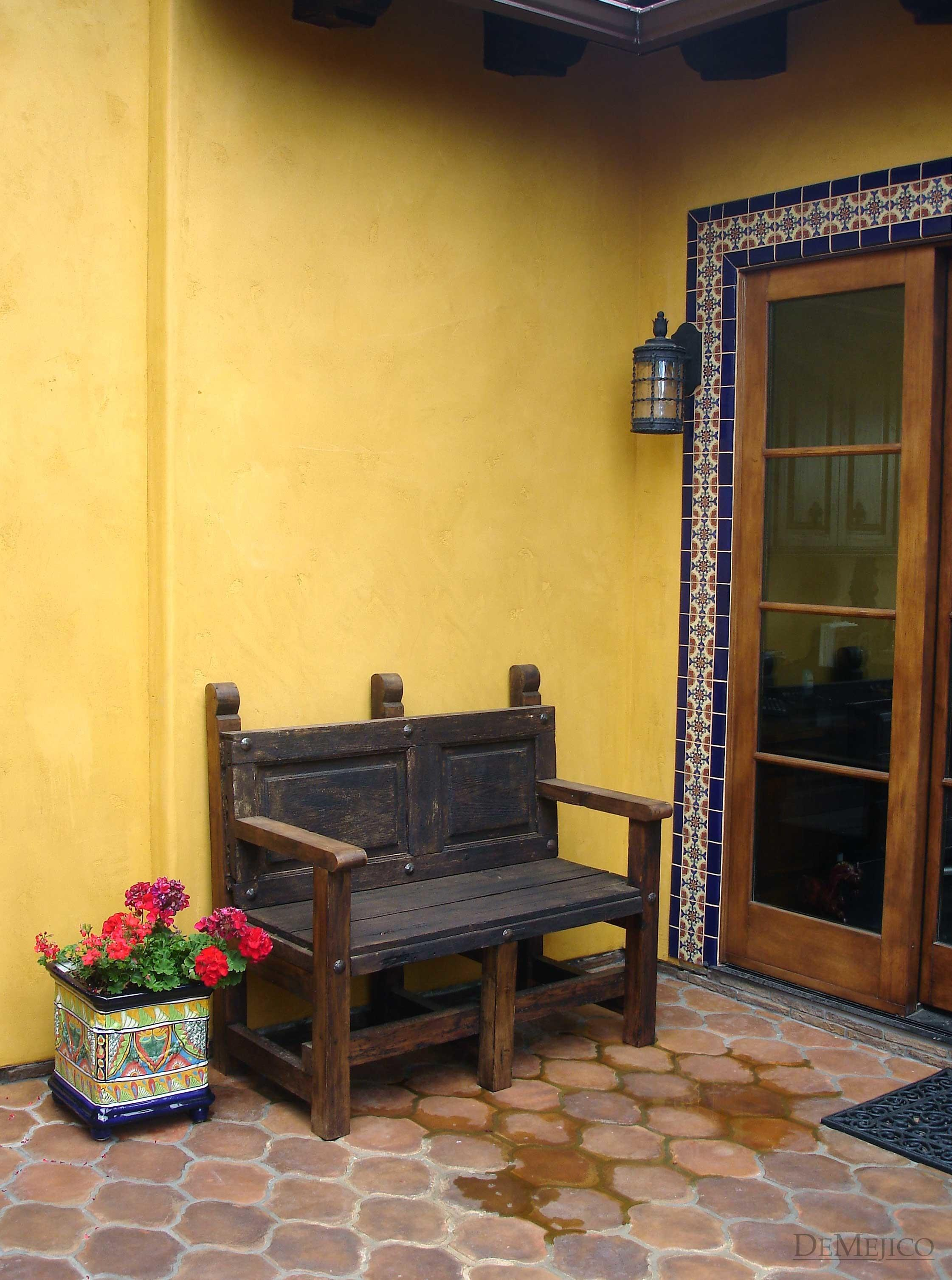 Spanish Furniture Outdoor Demejico Colonial Clipgoo