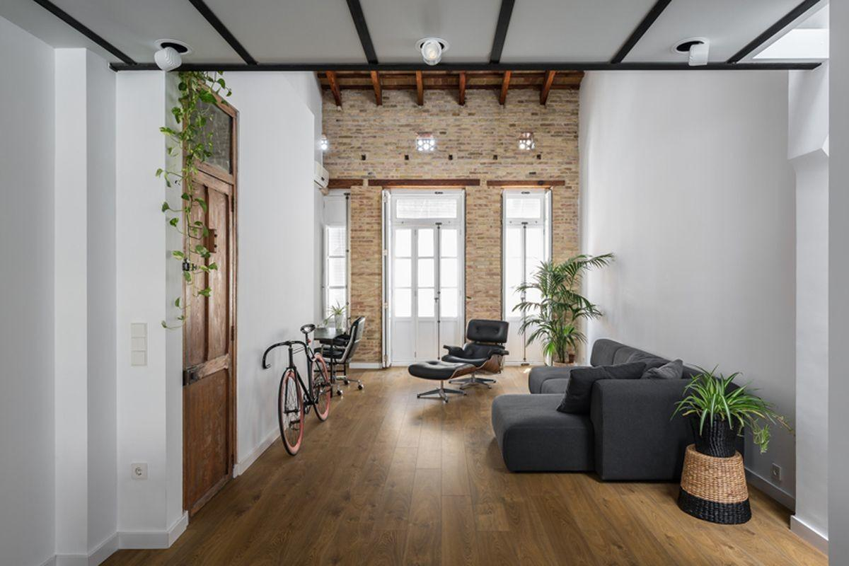 Spanish Loft Reno Combines Modernism Old World Charm