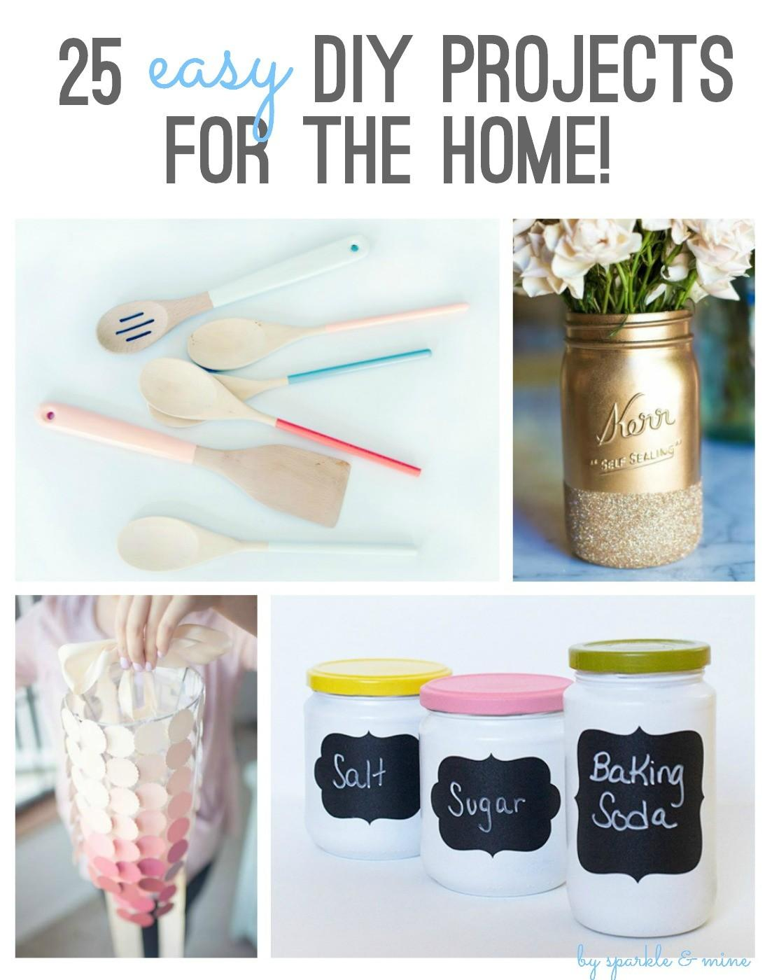 Sparkle Mine Easy Diy Projects Home