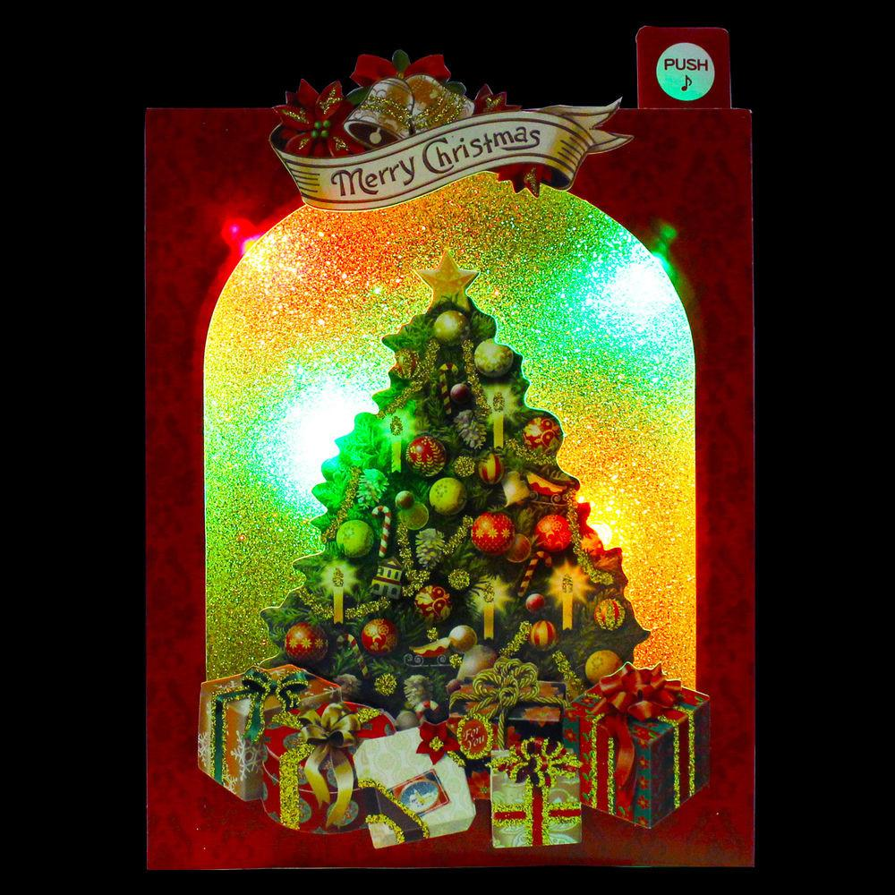 Sparkling Decorative Christmas Tree Lights Melody Pop