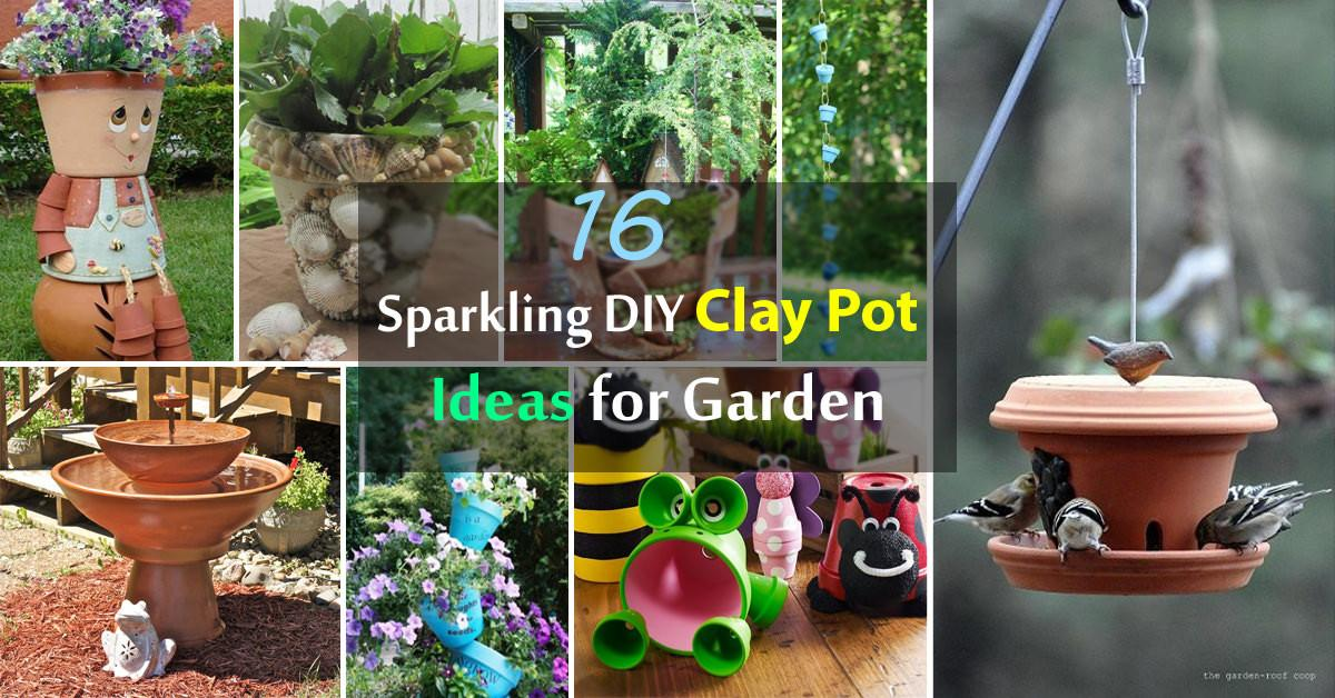 Sparkling Diy Clay Pot Ideas Garden Balcony