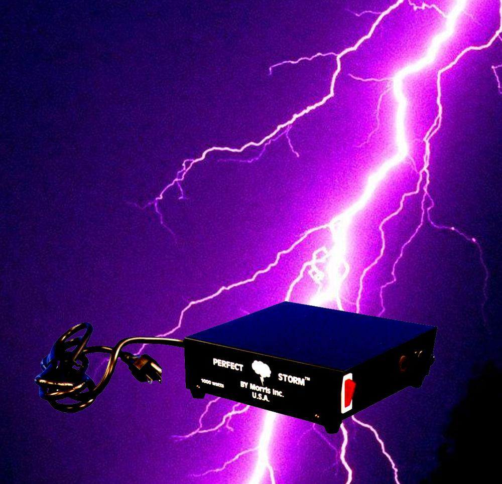 Special Effects Perfect Storm Thunder Sounds Lights
