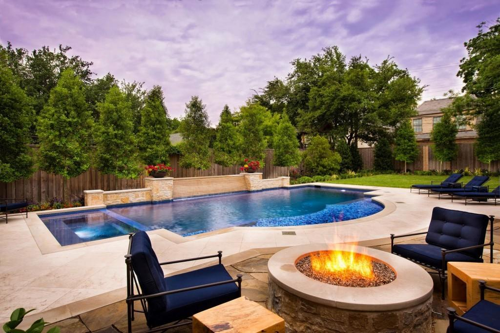 Spectacular Pools Fire Pit Outdoor