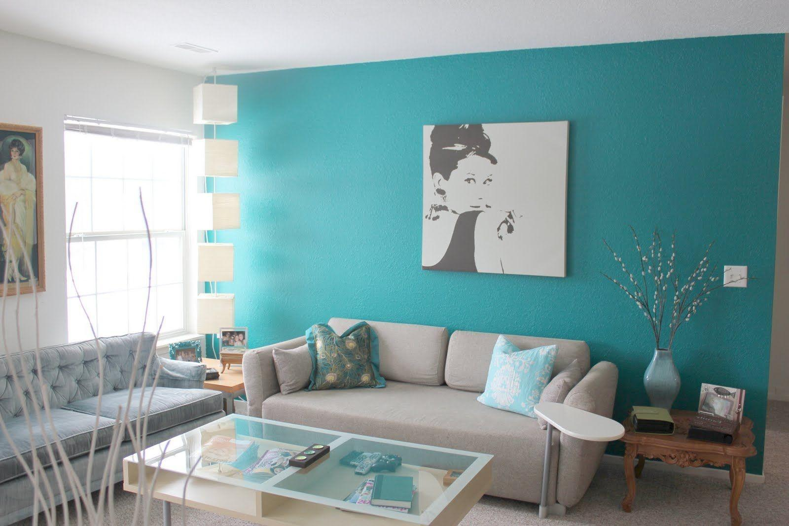 Spectacular Turquoise Living Room Home Design Furniture