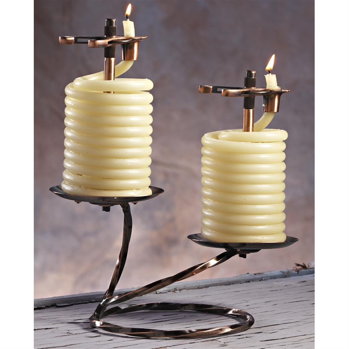 Spend Romantic Time Beeswax Coil Candle