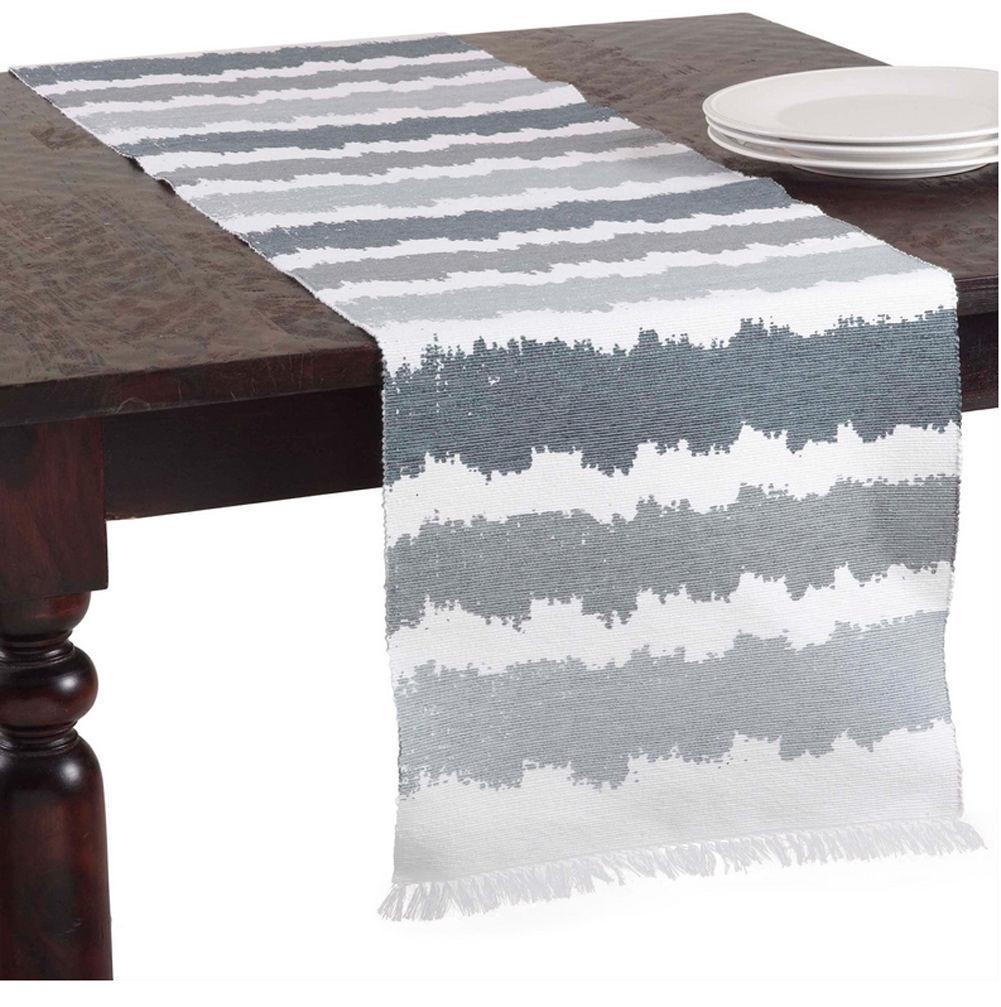 Spezia Ribbed Ombr Cotton Table Runner Similar Items