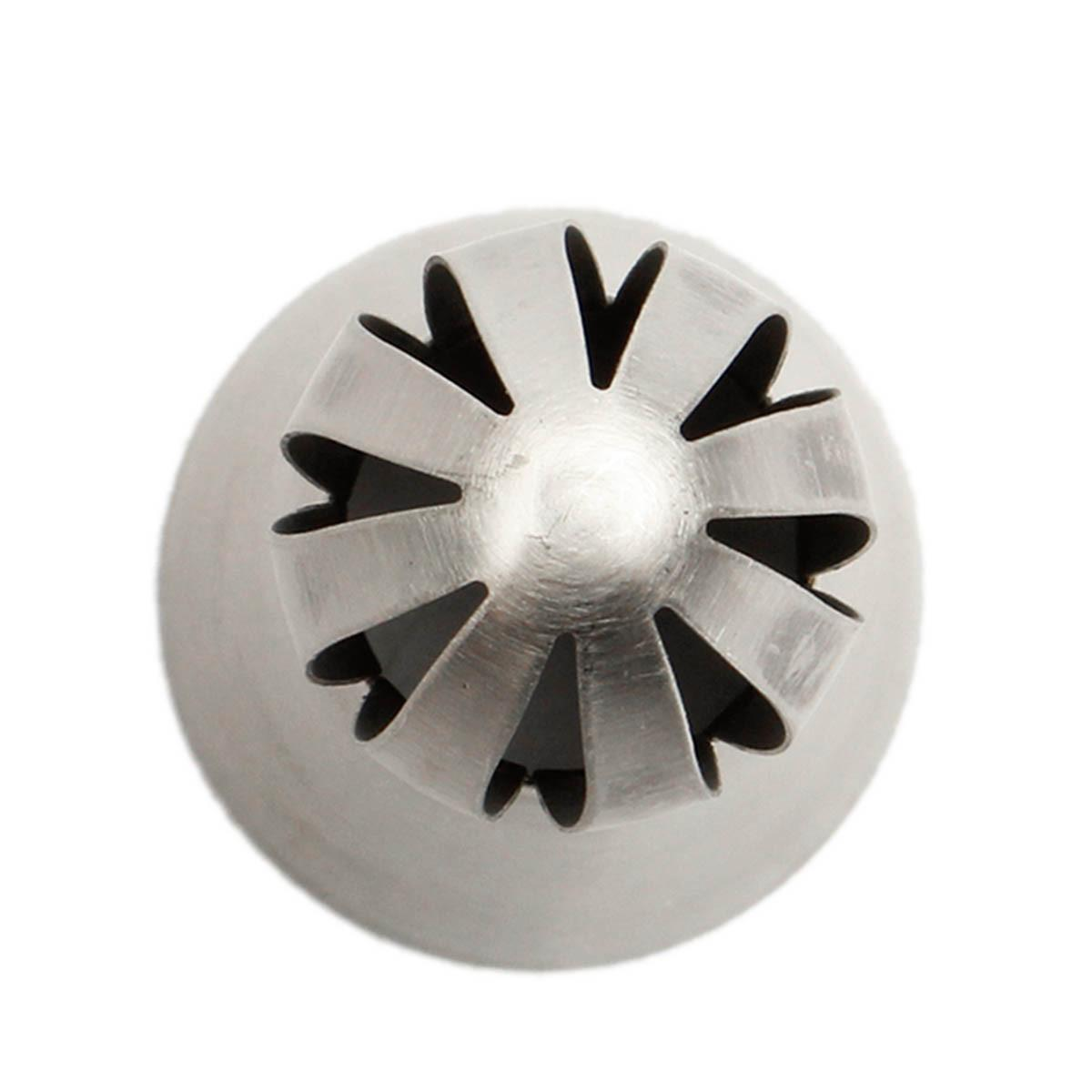 Sphere Ball Shape Flower Icing Piping Nozzles Pastry Tips