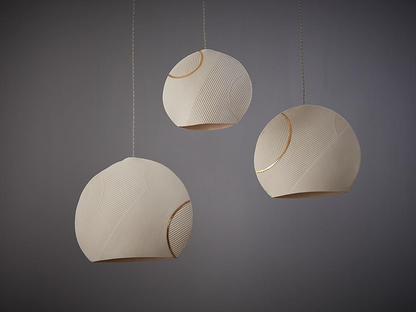 Sphere Porcelain Pendant Lights Sevensmith