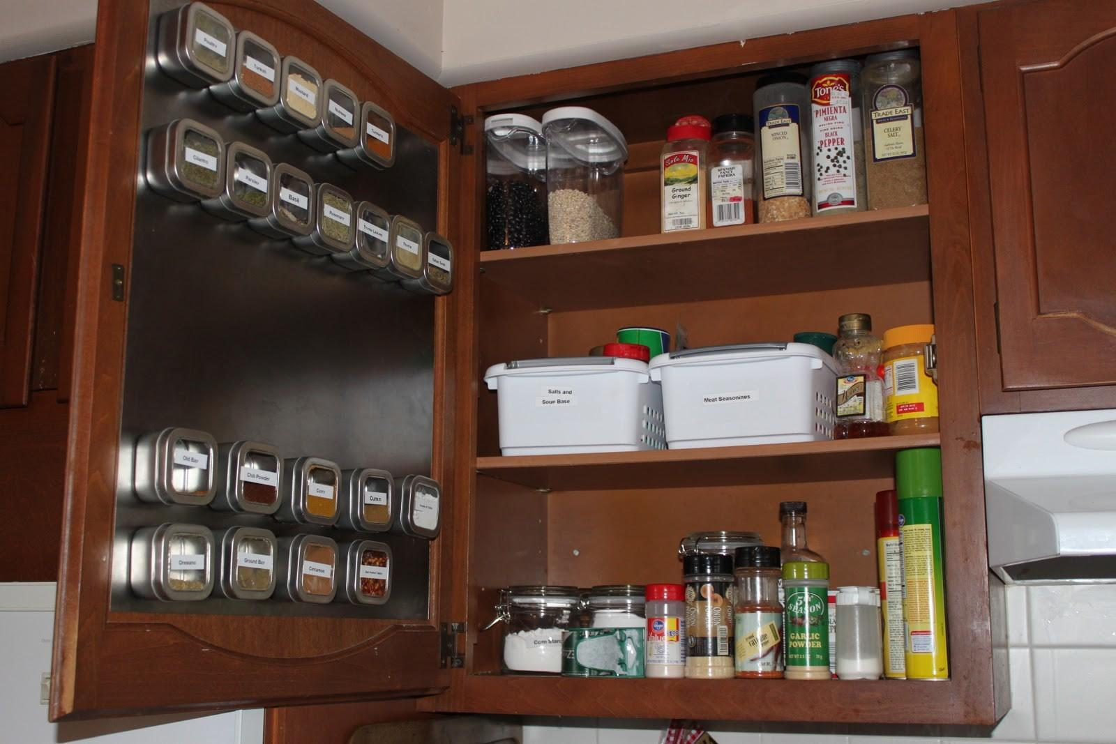 Spice Cabinet Becoming More Domestic