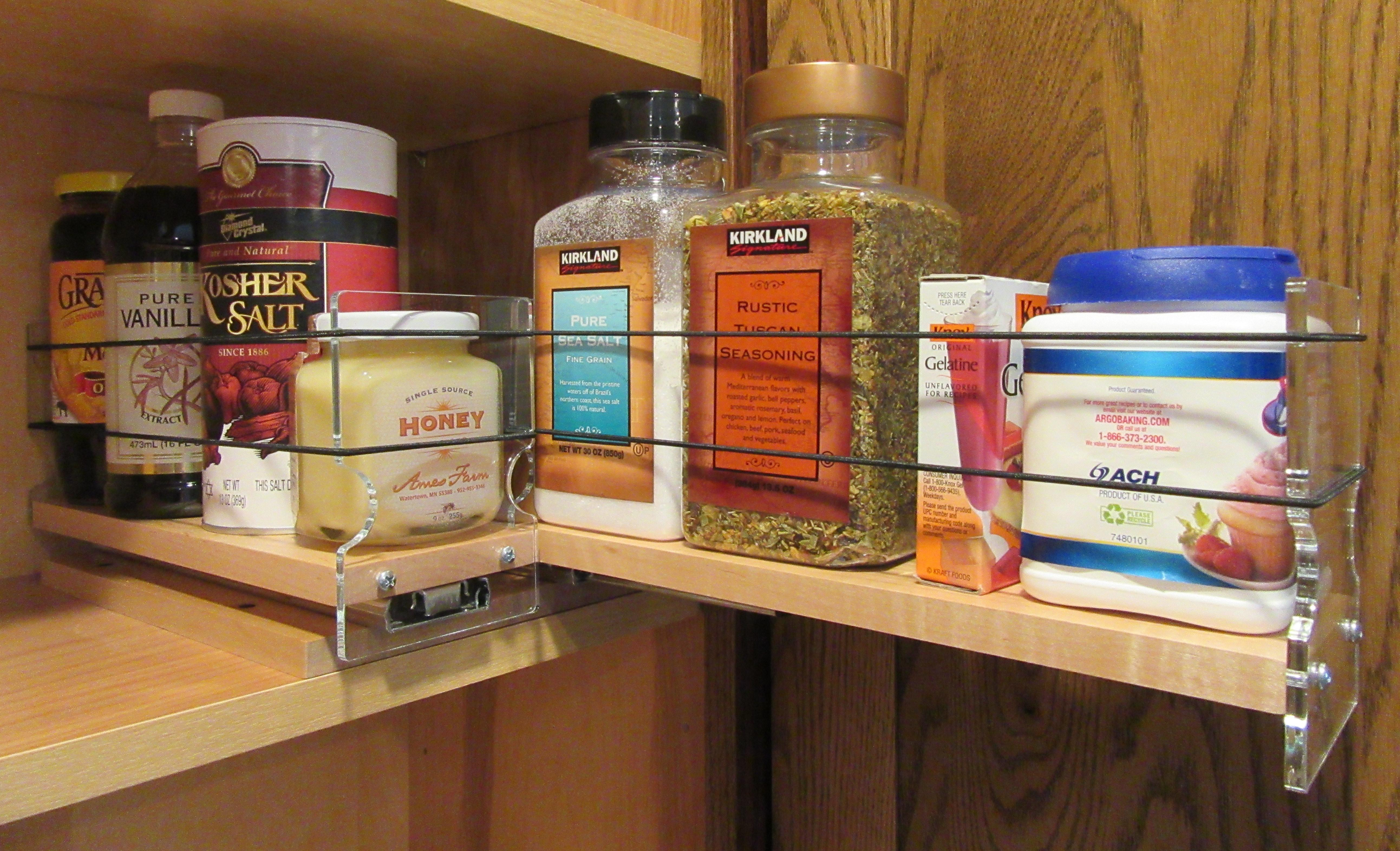 Spice Racks Cabinet Rack Drawers Pull Out
